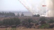 Kilis Suriye'deki Işid Hedefleri Vuruluyor