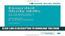 Read Now Essential Study Skills: The Complete Guide to Success at University (SAGE Study Skills