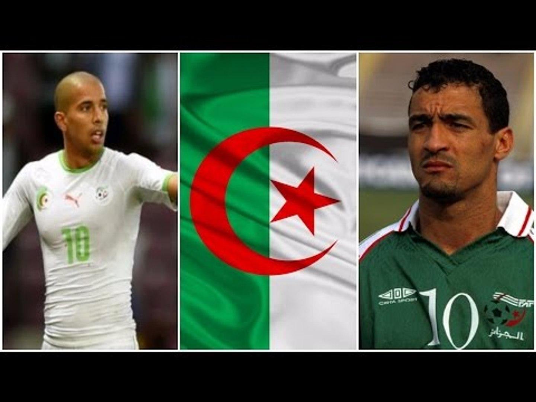 أكبر 5 هدافين تاريخيين للمنتخب الجزائري