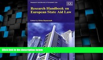 Big Deals  Research Handbook on European State Aid Law (Research Handbooks in European Law