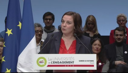 Intervention d'Emmanuelle Cosse - Université de l'Engagement de Tours