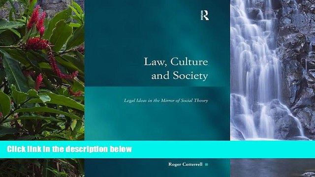 Deals in Books  Law, Culture and Society: Legal Ideas in the Mirror of Social Theory (Law, Justice