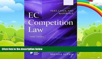 Books to Read  EC Competition Law: Text, Cases and Materials  Full Ebooks Best Seller
