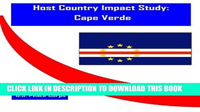 [Read] Ebook Host Country Impact Study: Cape Verde New Version