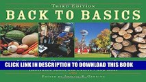 [PDF] Back to Basics: A Complete Guide to Traditional Skills, Third Edition Download Free