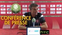Conférence de presse Nîmes Olympique - FC Sochaux-Montbéliard (0-0) : Bernard BLAQUART (NIMES) - Albert CARTIER (FCSM) - 2016/2017