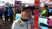 Sölden 2016 - Interview de Tessa Worley après sa 6ème place en Géant - VIDEO FFS/EUROSPORT