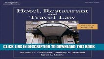 [Read] Ebook Hotel, Restaurant, and Travel Law, 7th Edition New Version