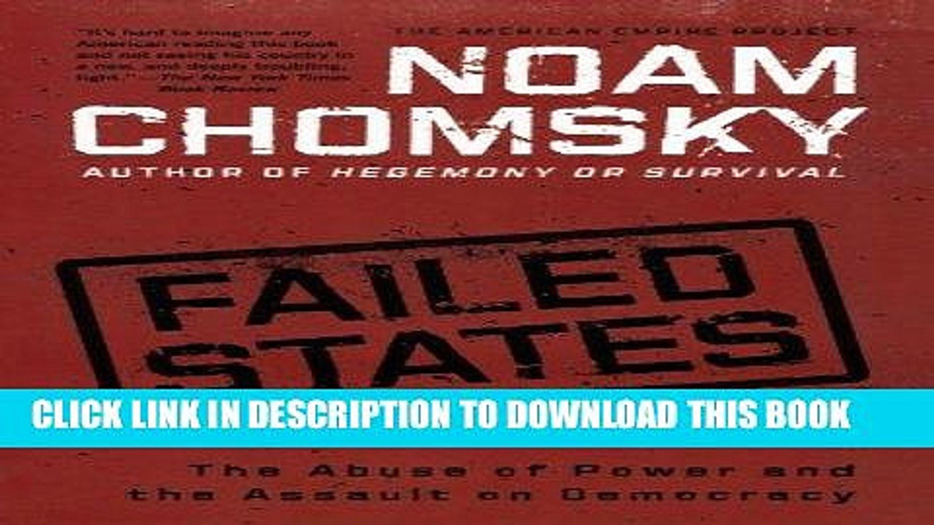[PDF] Failed States: The Abuse of Power and the Assault on Democracy (American Empire Project)