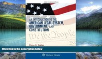 Big Deals  An Introduction to the American Legal System, Government, and Constitution (Aspen