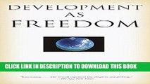 [Free Read] Development as Freedom Free Online