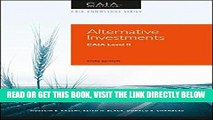 [BOOK] PDF Alternative Investments: CAIA Level II (Caia Knowledge) Collection BEST SELLER