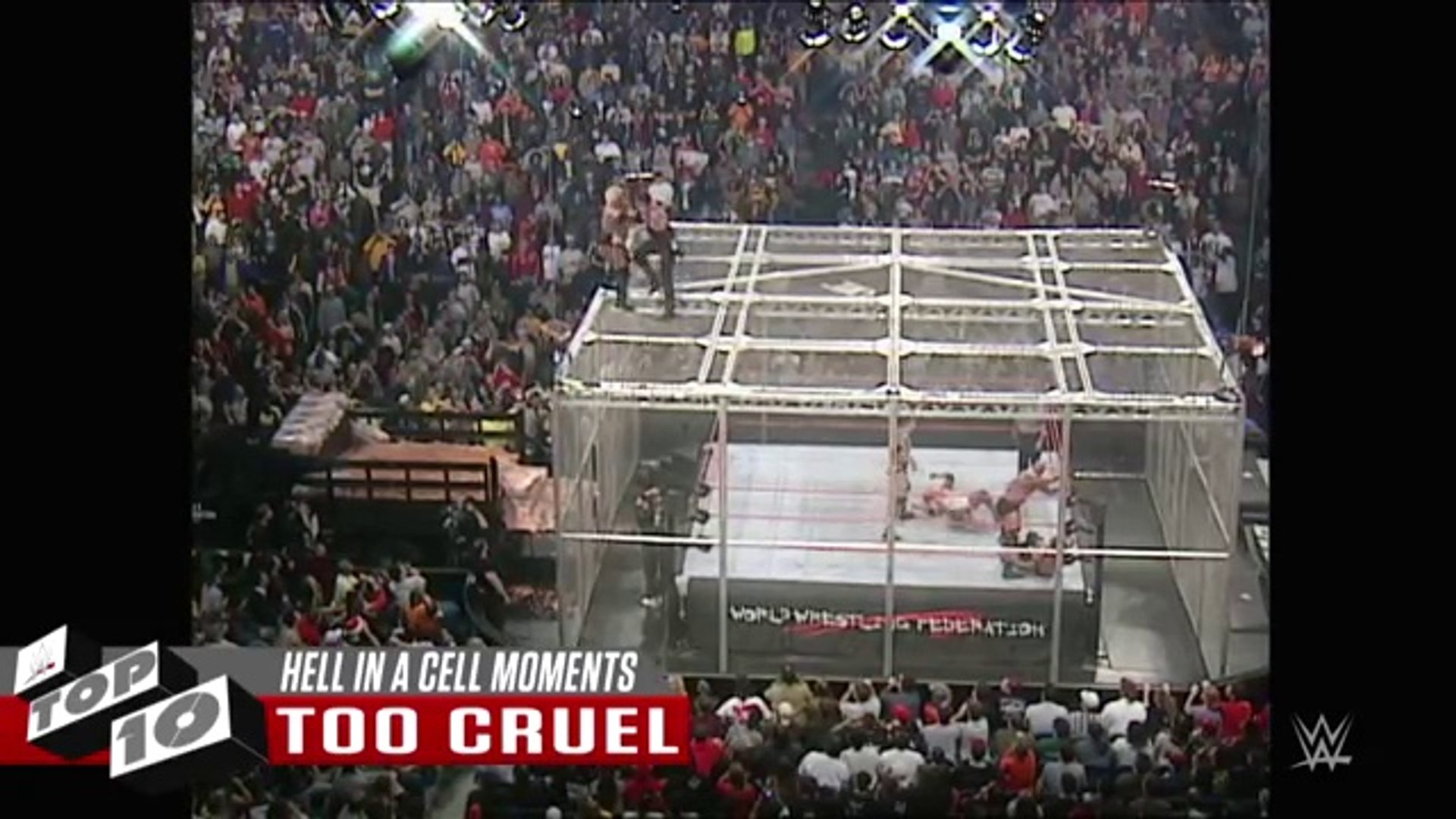 WWE Hell-ish moments in Hell in a Cell  WWE Top 10, Oct. 22, 2016 NEW WWE