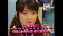 utaban-2000 08 10 うたばん/プッチモニ--「新生プッチモニ 保田の夜明け]