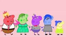 #Peppa pig #doing #makeup for #Daddy Pig #Finger Family #Nursery Rhymes Lyrics Parody