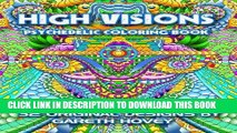 [PDF] High Visions - Psychedelic Coloring Book Popular Online