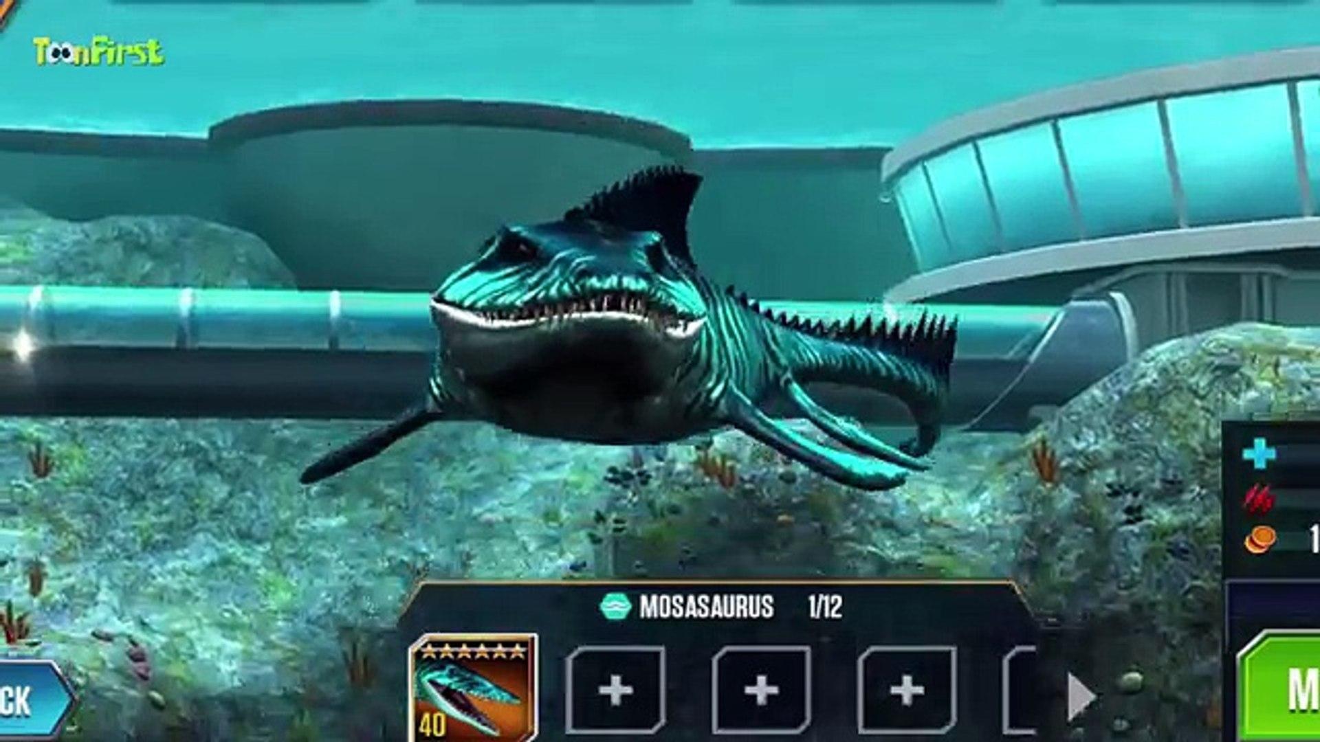 Get Mosasaurus Jurassic World Game Pics