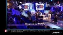 ONPC - Morandini sur iTélé : Christophe Hondelatte tacle Audrey Pulvar et Laurence Ferrari (Vidéo)