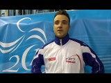 SImon Gauzy rejoint Lebesson en finale de l'Euro !