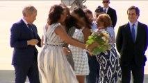 Malia Obama enseña sus bragas accidentalmente (Hija de Barack Obama) | Descuidos de famosas
