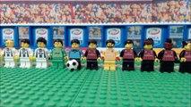 MILAN - JUVENTUS 1-0 • Serie A 2016/17 ( Film in Lego Calcio ) Goal e Highlights Sintesi Milan Juve