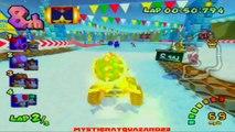 Mario Kart Double Dash!! - Mirror Mode Star Cup - Gameplay Walkthrough - Part 18 [NGC]