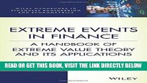 [EBOOK] DOWNLOAD Extreme Events in Finance: A Handbook of Extreme Value Theory and its
