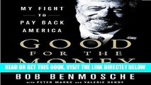 [EBOOK] DOWNLOAD Good for the Money: My Fight to Pay Back America PDF
