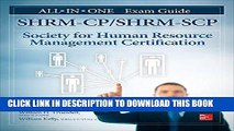 [DOWNLOAD] PDF SHRM-CP/SHRM-SCP Certification All-in-One Exam Guide Collection BEST SELLER