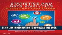 [Free Read] Statistics   Data Analytics for Health Data Management Free Online