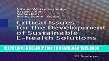 [Free Read] Critical Issues for the Development of Sustainable E-health Solutions (Healthcare