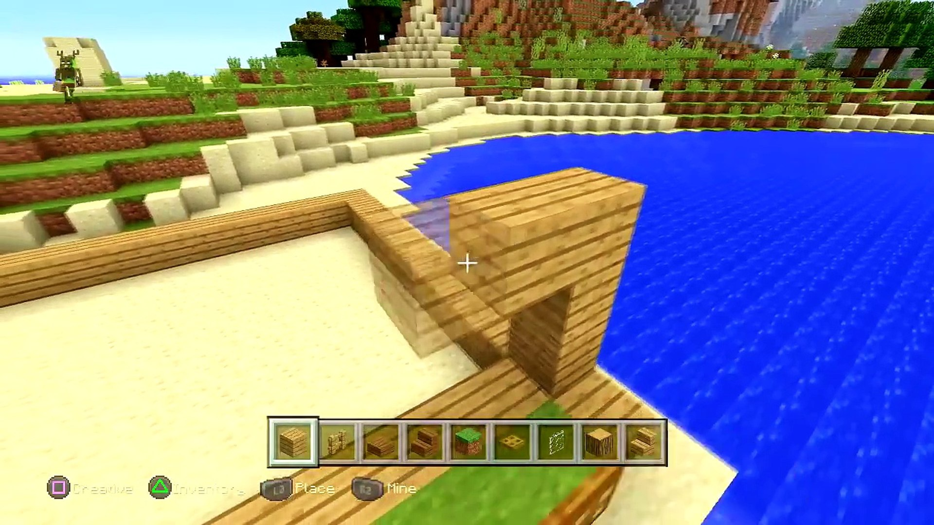 Minecraft How To Build A Beach House Tutorial Simple Easy Small Minecraft House Tutorial Video Dailymotion