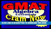 [Read PDF] GMAT Prep Test ALGEBRA REVIEW Flash Cards--CRAM NOW!--GMAT Exam Review Book   Study