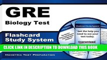 [New] Ebook GRE Biology Test Flashcard Study System: GRE Subject Exam Practice Questions   Review