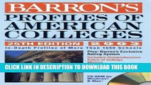 Read Now Profiles of American Colleges with CD-ROM: 2004 Edition (Barron s Profiles of American