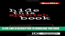 PDF Hide This Spanish Book Xtreme Read Online - video