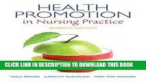 [PDF] Health Promotion in Nursing Practice (7th Edition) (Health Promotion in Nursing Practice (