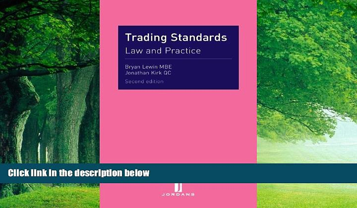 Books to Read  Trading Standards: Law and Practice (Second Edition)  Best Seller Books Best Seller