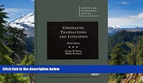 Full [PDF]  Contracts: Transactions and Litigation, 3rd Edition (American Casebook)  READ Ebook