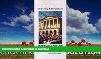 FAVORITE BOOK  Norwegian Dictionary   Phrasebook: Norwegian-English, English-Norwegian