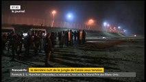 """Démantèlement de la """"Jungle"""": Des migrants sont arrivés vers 6 heures au point de rassemblement fixé par les autorités"""