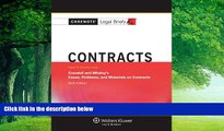Big Deals  Casenotes Legal Briefs: Contracts Keyed to Crandall   Whaley, Sixth Edition (Casenote