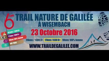 Trail de Galilée 2016