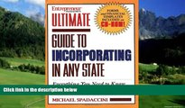 Big Deals  Ultimate Guide to Incorporating in Any State  Full Ebooks Most Wanted