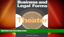 Big Deals  Business and Legal Forms for Theater  Full Read Best Seller