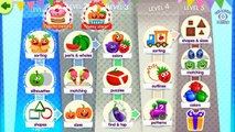 Funny Food: 16 Kindergarten & Preschool Learning Games For Toddlers & Kids Android and iOS