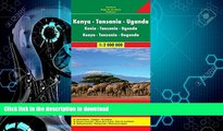 FAVORITE BOOK  Kenya / Tanzania / Uganda FB 1:2M 2013 (English, French and German Edition)  BOOK