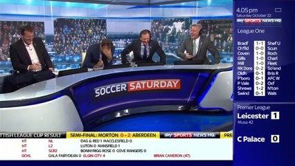 Sky Sports – Paul Mersons prononce «Salami» au lieu de Slimani et provoque l'hilarité sur le plateau