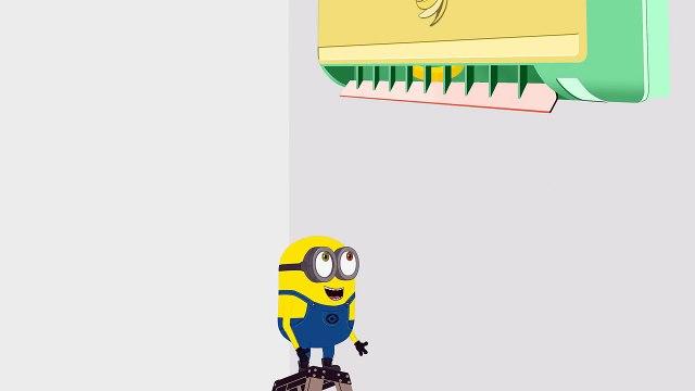 Minions Banana Balloon Strings Funny Cartoon ~ Minions Mini Movies 2016 HD 15