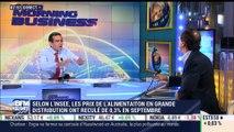 """Grande distribution: """"Aucun chef d'entreprise n'a appris à gérer un chiffre d'affaires potentiellement négatif"""", Michel-Edouard Leclerc - 24/10"""